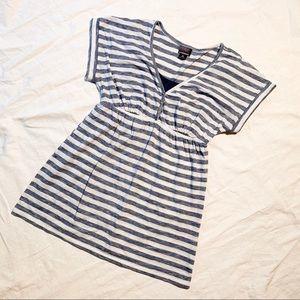 Oh Baby by Motherhood | Navy Stripe SS Tunic